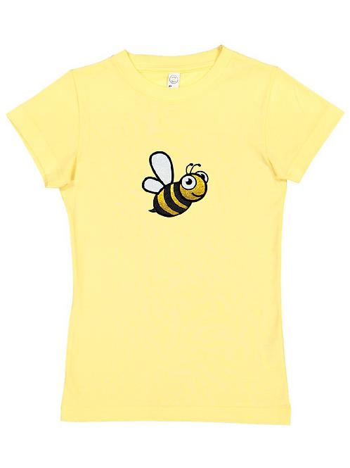 "Girls ""Bee"" Fine Jersey Tee"
