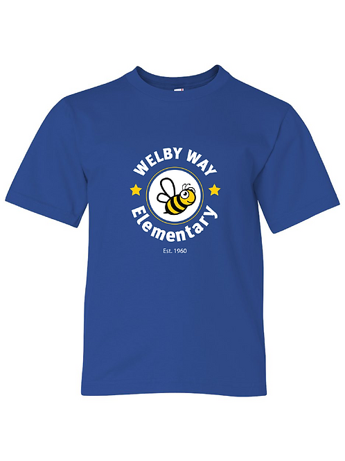 """Youth Lightweight """"Welby"""" Tee"""