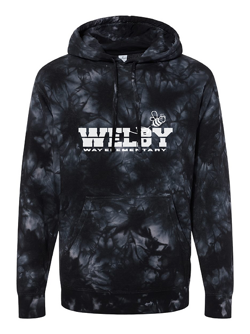 Adult Tie-Dyed 'Welby' Hoodie