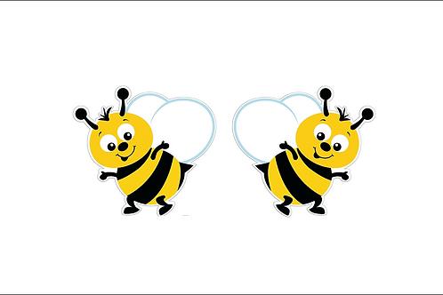 Cute Bee Cardboard Cutouts (2)