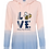Thumbnail: Ladies Ombre Lightweight Hoodie