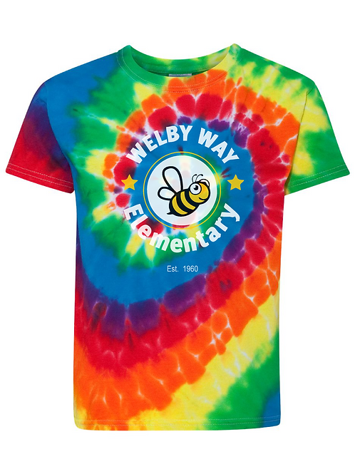 """Youth """"Welby"""" Tie-dye Tee"""