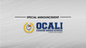 ANNOUNCEMENT:  Ocali Charter Middle School, Inc. Renamed to Clear Choice Academies, Inc.