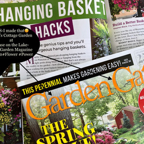 Moss Basket Featured in Garden Gate Magazine March/April 2020 Edition