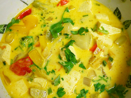 Amazing Coconut Curry!