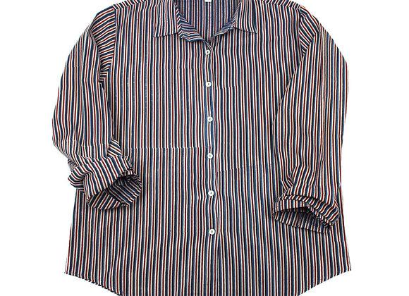Classic Stripes Pyjama Set with Pockets