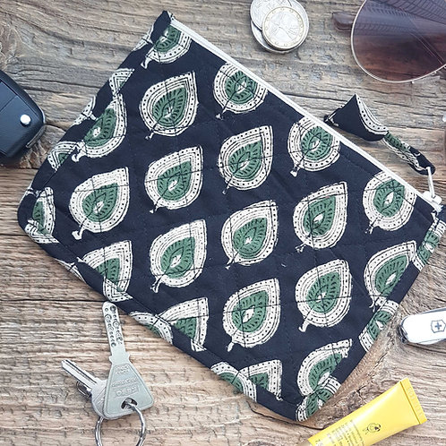 Travel Pouch-Leaf