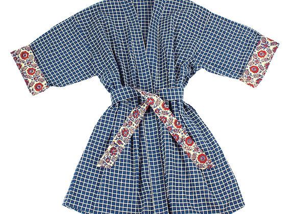 Blue Dimension Robe- Short