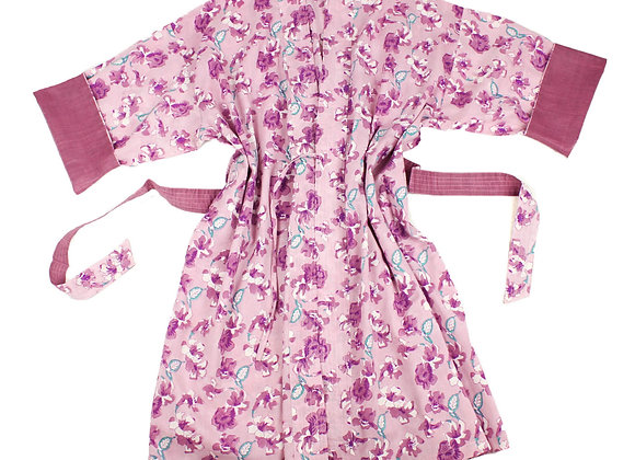 Orchid Garden Robe-Short