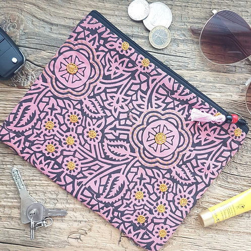 Travel Pouch-Pink City