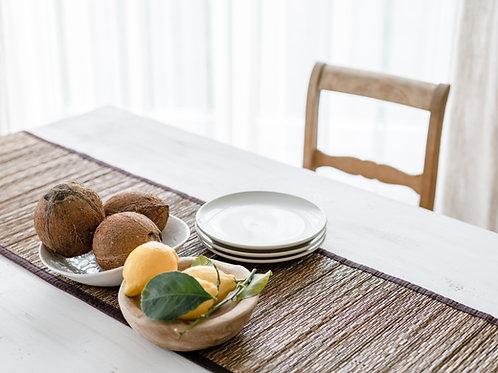 Table Runner-Coconut