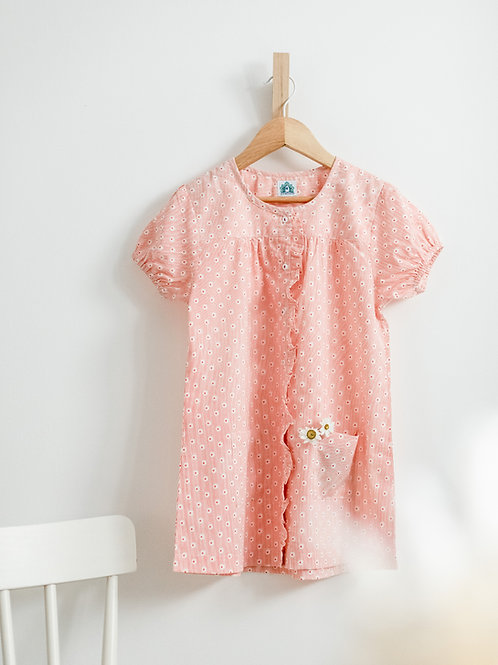 Coral Lullaby Dress
