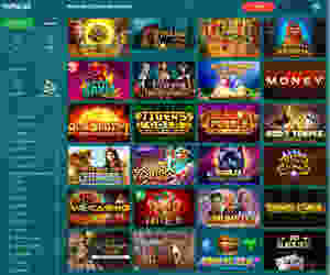 22bet casino games menu