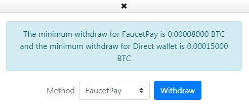 faucetpay withdrawal moremoney faucet