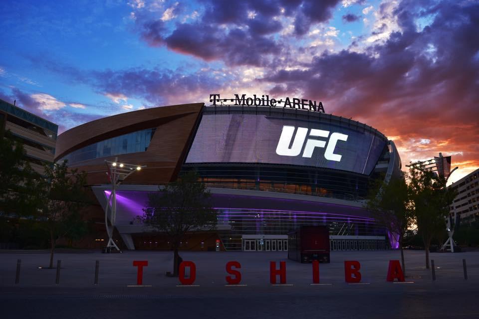 T-Mobile Arena ufc 246