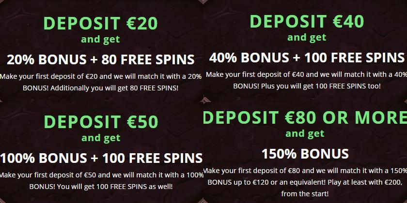 ilucki deposit bonus
