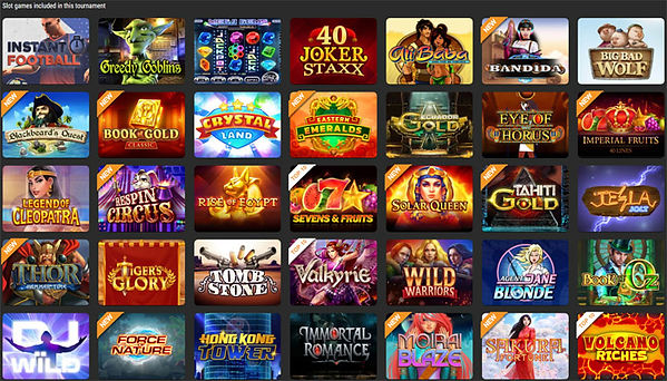 Slot games Cloudbet