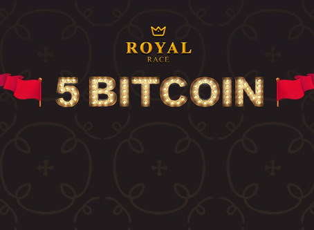 Royal Race 5BTC on FortuneJack Casino