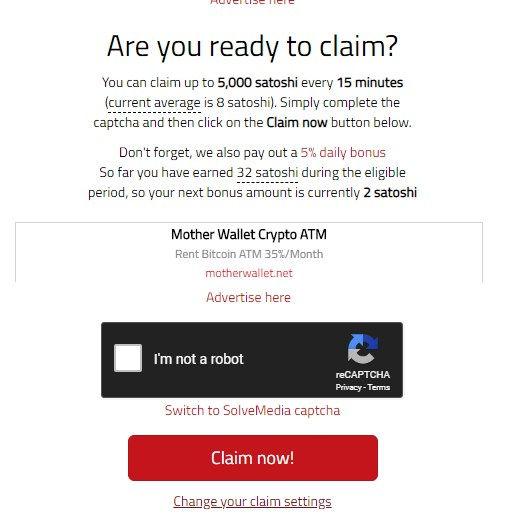 BonusBitcoin Claim