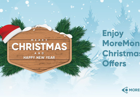 Christmas Offers by MoreMoney.io Faucet