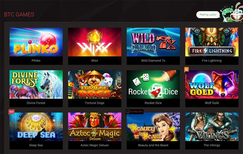Bitcoin games on bitstarz casino