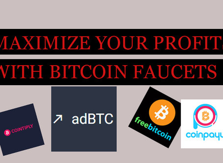How To Earn More With Crypto Faucets
