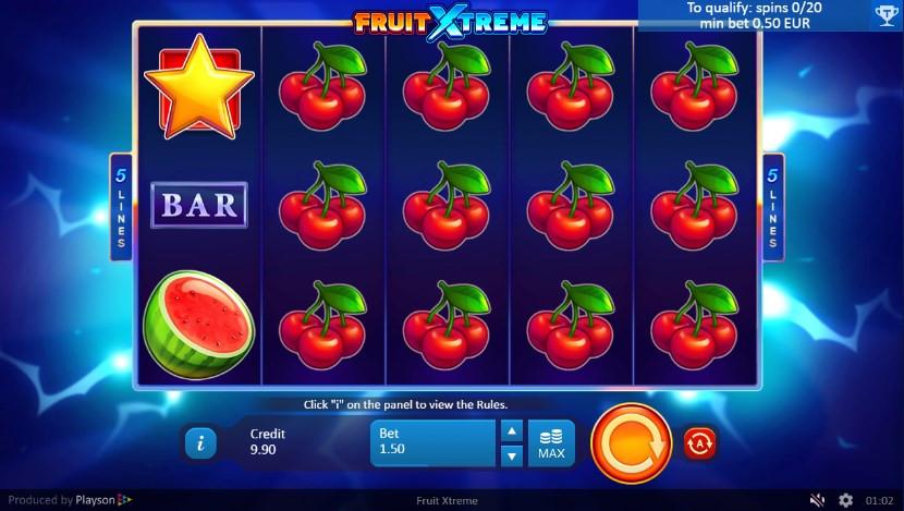 cloudbet leaderboard playson fruit xtreme slot