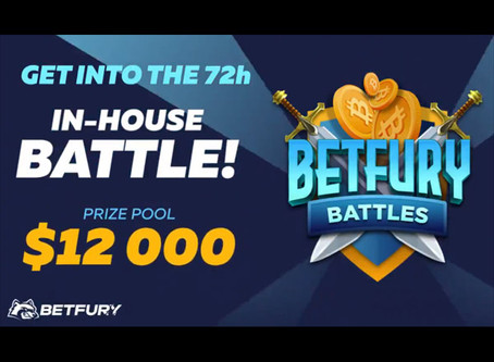 BetFury Battle for 1 Bitcoin