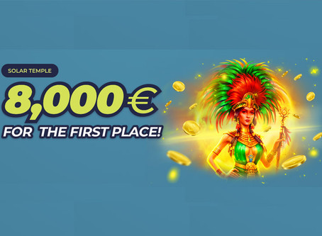 Casinoin Solar Temple Promotion and Welcome Bonus
