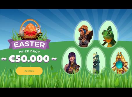 Easter Prize Drop on Fortunejack - €50,000 Prize Pool