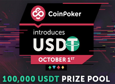 Play Poker With USDT (Tether) on CoinPoker