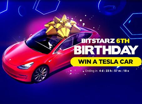 Win Tesla on Bitstarz Casino