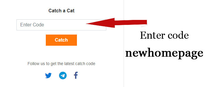 catch a cat coinpayu code