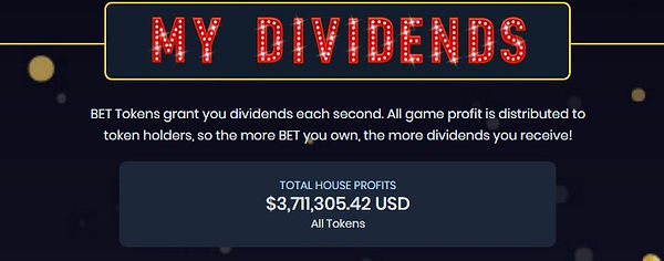 EarnBet Dividends