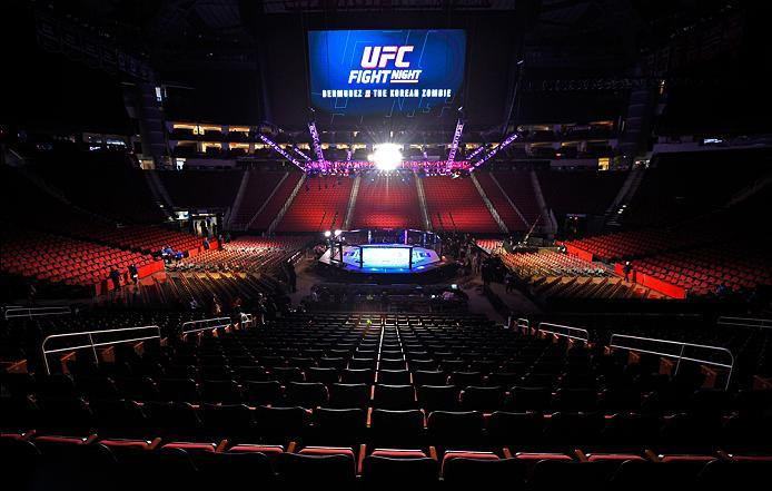 Toyota Center, Houston, TX ufc247