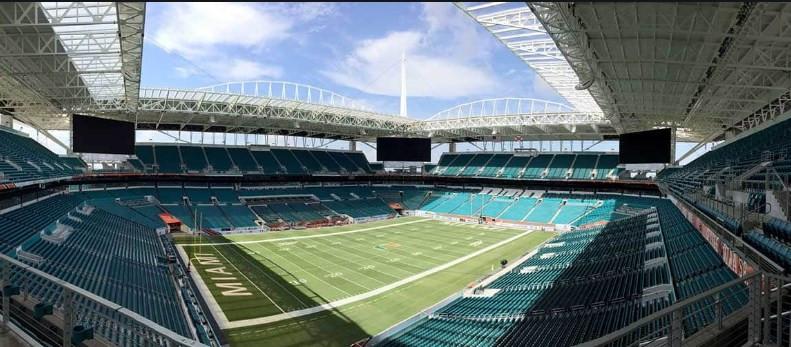 Hard Rock Stadium, Miami, FL.
