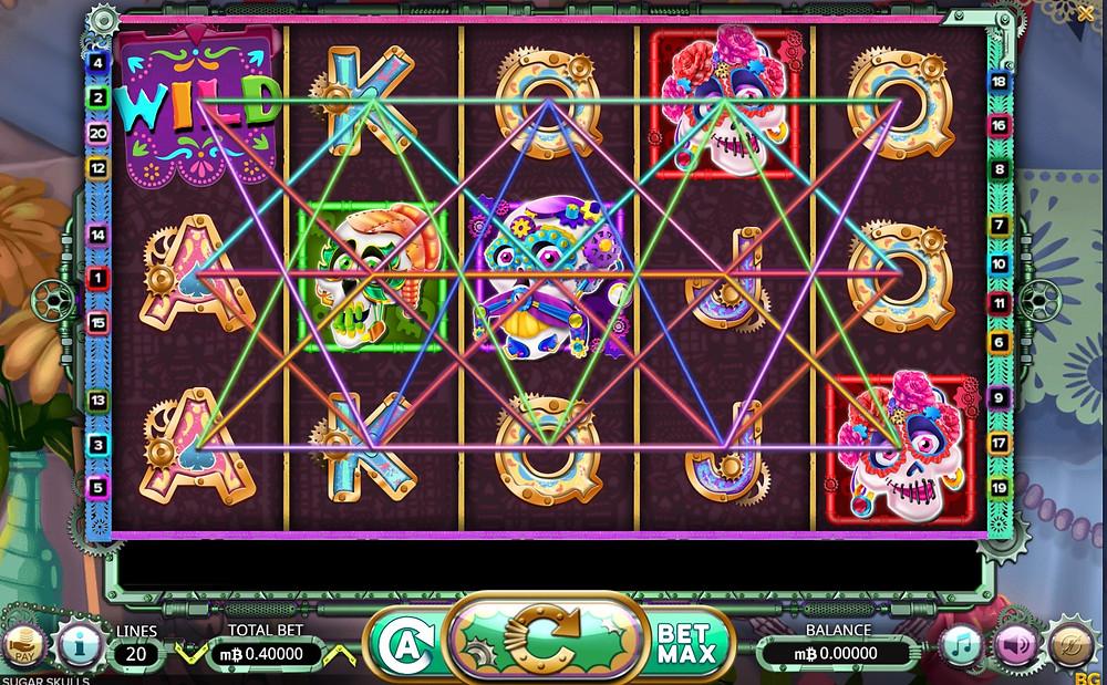 mbit casino Sugar Skulls