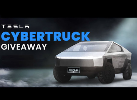 Super Spinner - Win a CyberTruck by Chips.gg