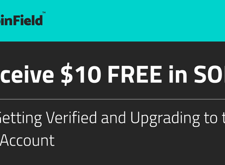 CoinField - Get $10 FREE in SOLO Tokens