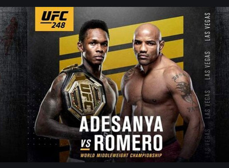 UFC248 Romero vs Adesanya - Odds Comparison
