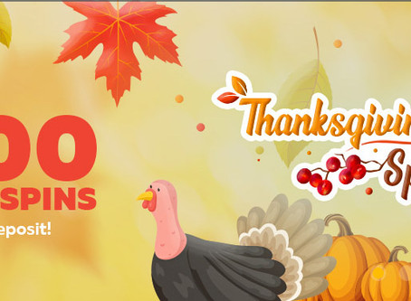 Thanksgiving Free Spins on FortuneJack
