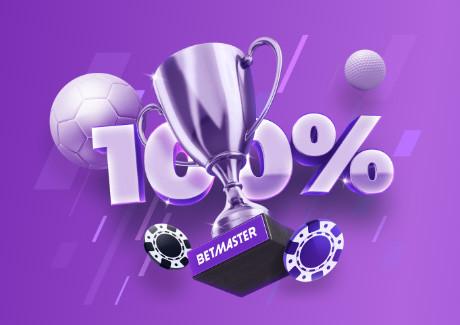 Betmaster Welcome bonus