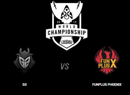 Worlds 2019 Finals - FunPlus Phoenix vs G2 Esports Betting Odds Comparison