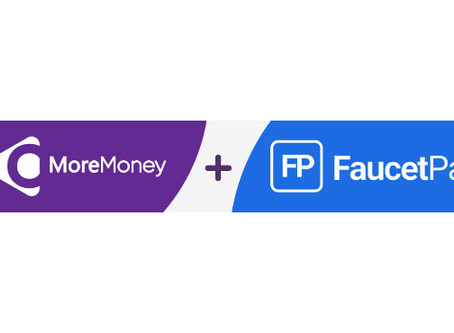 MoreMoney Faucet Added FaucetPay Withdrawals