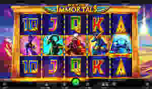 book of immortals fortunejack casino