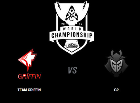 Worlds 2019 - Team Griffin vs G2 Team Betting Odds Comparison