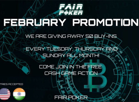 Fair Poker Rakeback and Free Buy-Ins
