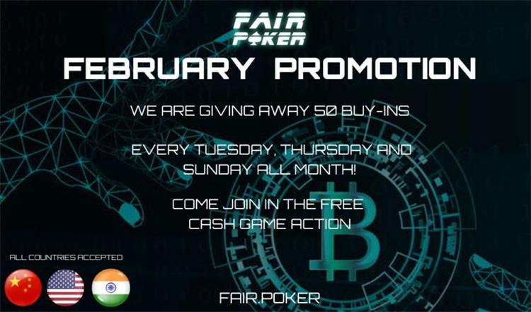 fair poker promo