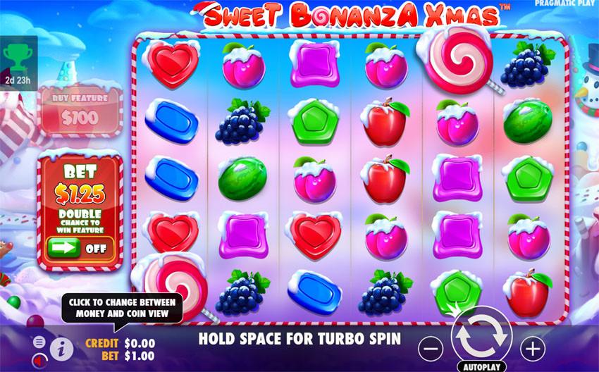 Sweet Bonanza Xmas slot