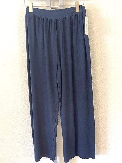Luftige Leinenhose - blau